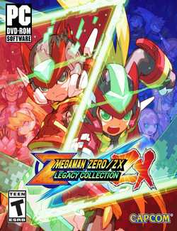 Mega Man Zero/ZX Legacy Collection-CPY